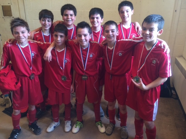 BU11-12 3rd Place - South Huntington Sharpshooters